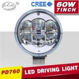 4X4 Mining Industry 7inch Round CREE 60W LED Spotlight Work Lights (PD760)