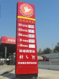 Outdoor Gas Station Advertising LED Light Box