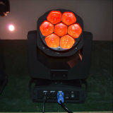 7PCS Bee-Eye RGBW 4in1 LED Moving Head/LED Stage Light for DJ Disco with Ce RoHS