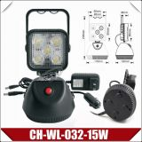 15W Rechargeable LED Work Light with Epistar Chips (CH-WL-032-15W)
