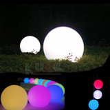 Large LED Ball Outdoor Lamp Garden Yard Light Waterproof