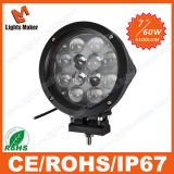 60W LED Work Light Waterproof LED Truck Light with Black/Silver Color Optional