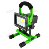 10W Rechargeable LED Work Light, LED Flood Light, Emergency Light
