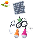 9W Portable Solar Home Lamp, Sunrise Solar Light