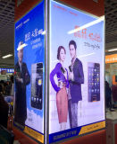 Shopping Mall Wall Mounted Advertising Billboard and Edgelit Picture Display