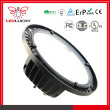 Dimmable 100W ERP CE and RoHS Approved UFO LED High Bay Light with 5years Warranty