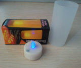 LED Tea Candle Light with Frosted Cup (HDD-03)