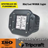 Super Bright 16W CREE LED Work Light for 4X4 4WD SUV Tractor Truck