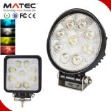 Factory 10-30V DC Driving Working Light, Truck LED Working Lamp, 27W LED Work Light