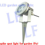 High Power LED Anodised Aluminum Spike Garden Lights