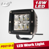 Heavy Duty Machine LED Headlight 18W 4inch Square LED Work Light (PD218-2)