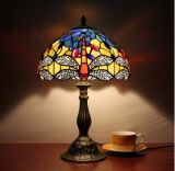 Tiffany table Lamp Flower Shade Stained Glass Table Lamp Wholesale Price Antique Style Glass table Lamp