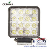 IP67 48W Square Epistar LED Work Light
