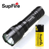 Waterproof IP67 LED Flashlight with CREE Xml L2 LED