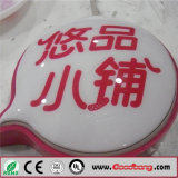 Advertising Outdoor Strong Sound PMMA Logo Oval Blister Lamps