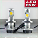 40W High Power LED Headlight, Auto LED Car Light (H4)
