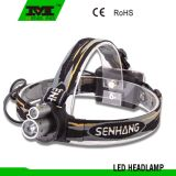 High Quality Aluminum+Plastic LED Head Lamp