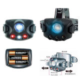 1W LED Headlamp with Rubber Body (HL540-1W-3AAA)