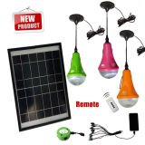 3 in 1 Solar Camping Lights/Solar Home Lights with 3pcs Led Bulb