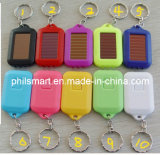 2014 Hotsell Keychain Solar Power LED Flashlight