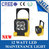 Portable LED Emergency Light 12W Foldable LED Work Light