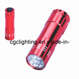 Dry Battery Aluminum LED Flashlight (CC-019)