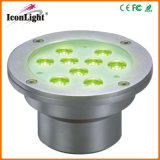 3W LED Light for Underwater Underground IP68 with CE (ICON-D002B-9*3W)