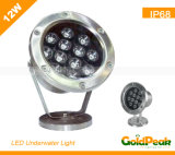 LED Underwater Light/Swimming Pool Light/ Fountain Light (GP-UL-12W1)