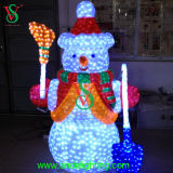 Christmas LED String Lights Outdoor Snowman