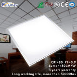 China Factory 600*600mm 36W Emergency LED Panel Light with Emergency Driver / Square LED Panel Light / LED Panel Lighting