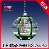 Unique Christmas Crafts Hanging Lamp Chandelier with LED Lights