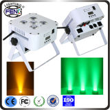 Wireless DMX 6PCS 6 in 1 LED PAR