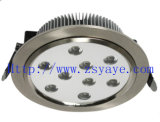 1W-36W High Power LED Downlight, LED Down Lamp, LED Ceiling Light with CE, ROHS (YAYE-LD9W0B)