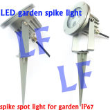 IP65 Outdoor Spike LED Garden Light 5W 220V 12V High Power LED Lawn Light