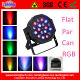 18PCS 3 Watt RGB LED PAR Stage Light