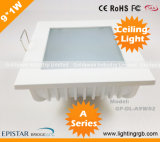 9W LED Ceiling Light/ LED Ceiling Lamp/ LED Down Light