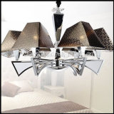 Simple Elegance Chandelier with PC Shades for Home or Hotel