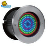 Vor012 Embedded Colorful LED Stainless Steel Underwater Light for Swimming Pool