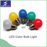 E27/B22 PC Material LED Colorful Bulb Light