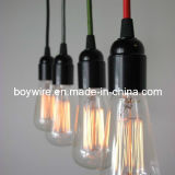 Vintage Pendant Lamp with Edison Bulb