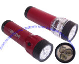 Dry Battery LED Flashlight (3518)