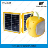Rechargeable 6V 4500mAh Lead-Acid Battery 9 LED Solar Lantern Light with Phone Charger and 3.4W Solar Panel