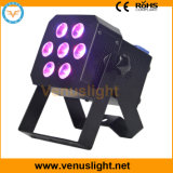 Mini 6in1 Rgbawuv LED Flat PAR Light