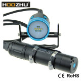 Max 4000 Lm CREE Xm-L2 LEDs*10 Canister LED Torch Light for Underwater Video