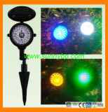 Outdoor LED Rechargeable Emergency Garden Light (SBP-FL-10)