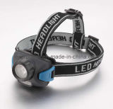 1W+2PCS Red LED High Power LED Headlamp/LED Flashlight/LED Head Torch