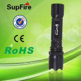 LED Mini Waterproof Rechargeable Flashlight with CE Certification