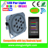 WiFi/DMX Wireless Control Rechargeable LED PAR with Battery