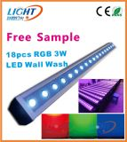 18X3w 3in1 IP65 RGB Outdoor LED Wall Wash Light