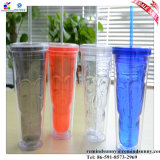 Size Customized Promotion Party Supply LED Plastic Straw Cup